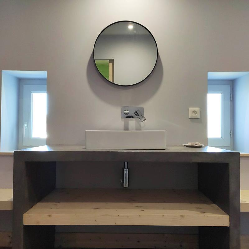 salle de bain zen épurée