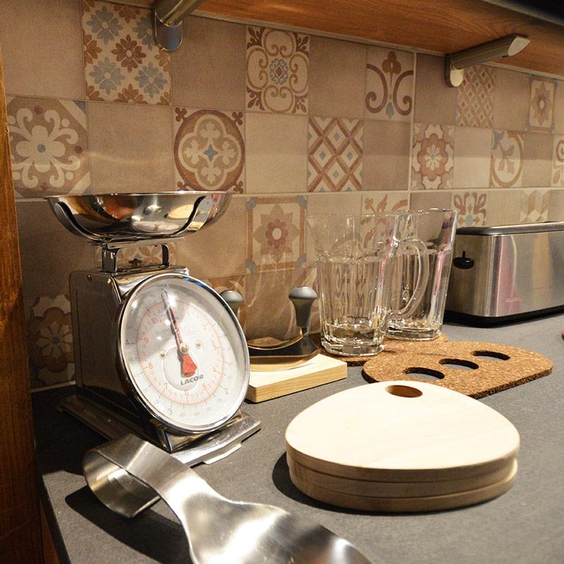 accessoires pour décorer une cuisine style campagne