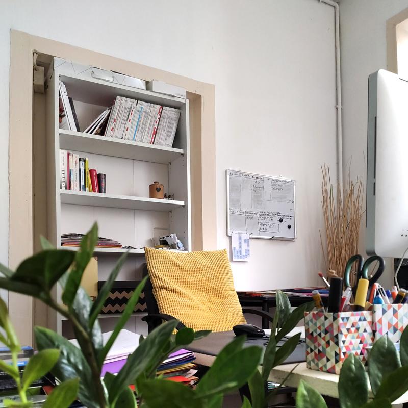 décoration bureau à la maison