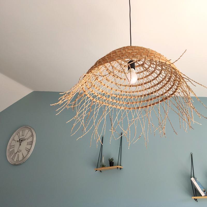 luminaire végétal salon
