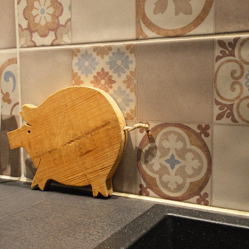 objets déco bois cuisine campagne