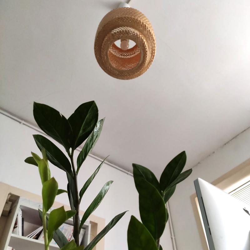 luminaire bambou bureau
