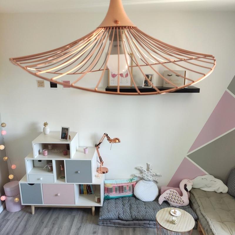 luminaire et décoration chambre de fille